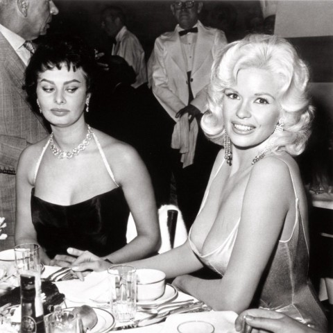 Sofia Loren and Jane Mansfield
