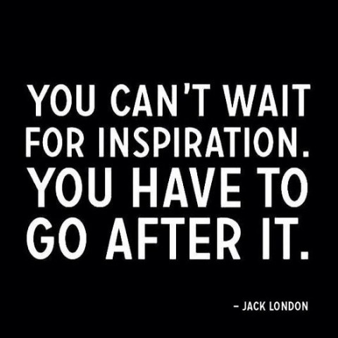 inspiration by Jack London