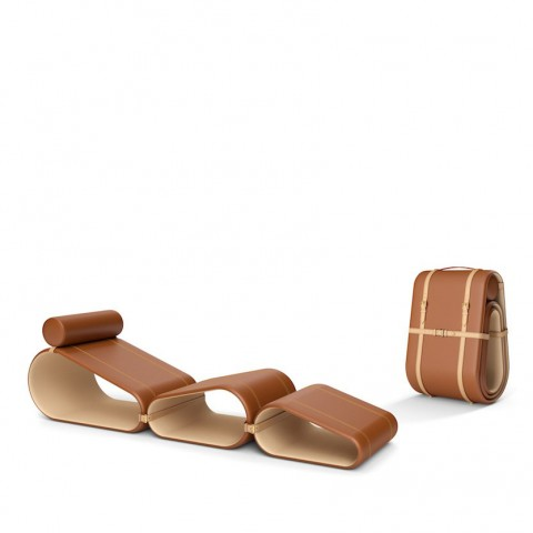The Lounge Chair - Marcel Wanders - Louis Vuitton