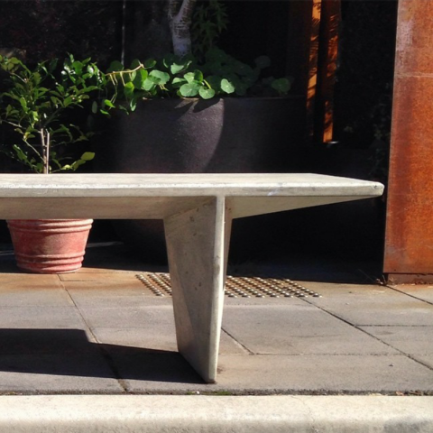 Concrete bench - Adam Goodrum